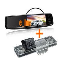 "Special Rear View Parking Camera for CHEVROLET EPICA/ CAPTIVA / CRUZE / AVEO / LOVA+4.3"" Touch Screen Car Mirror Monitor"