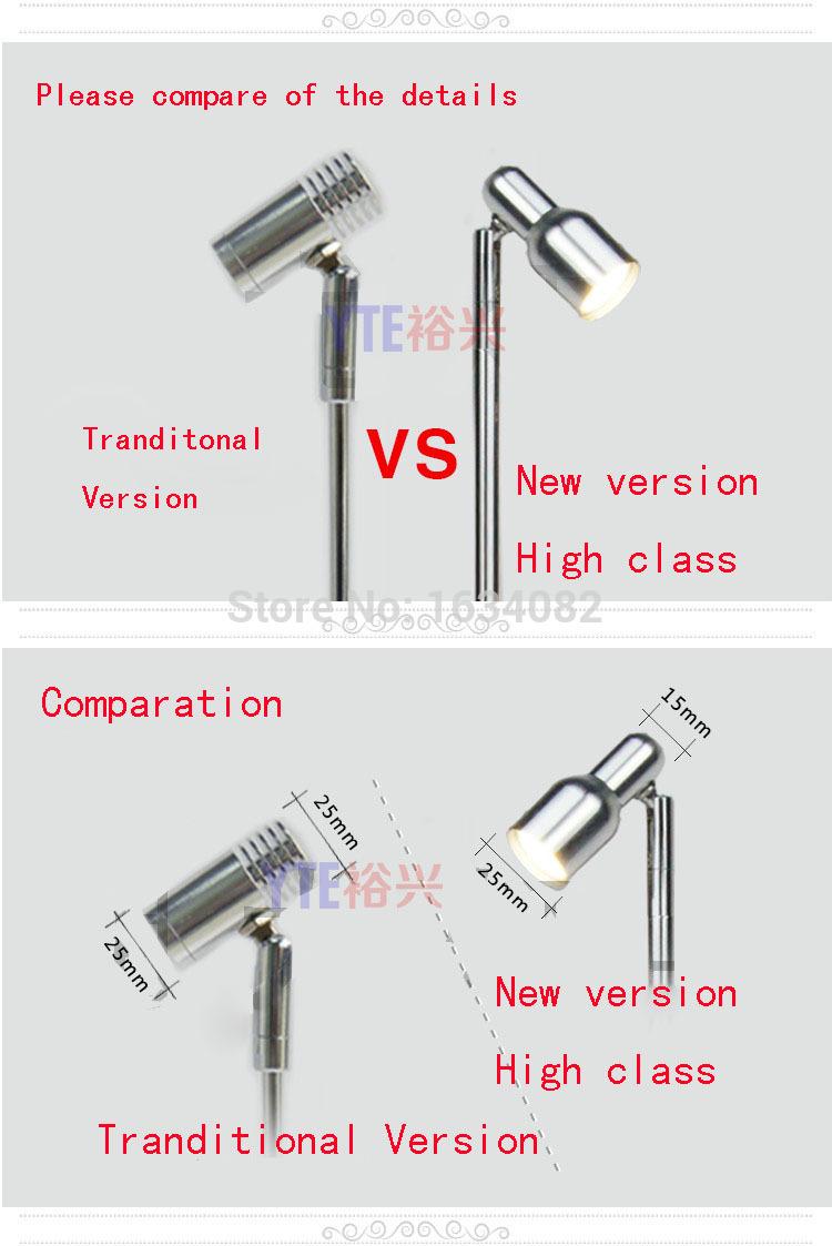 led showcase light, led jewelry light, led cabinet jewelry spot light, led show case display light(China (Mainland))