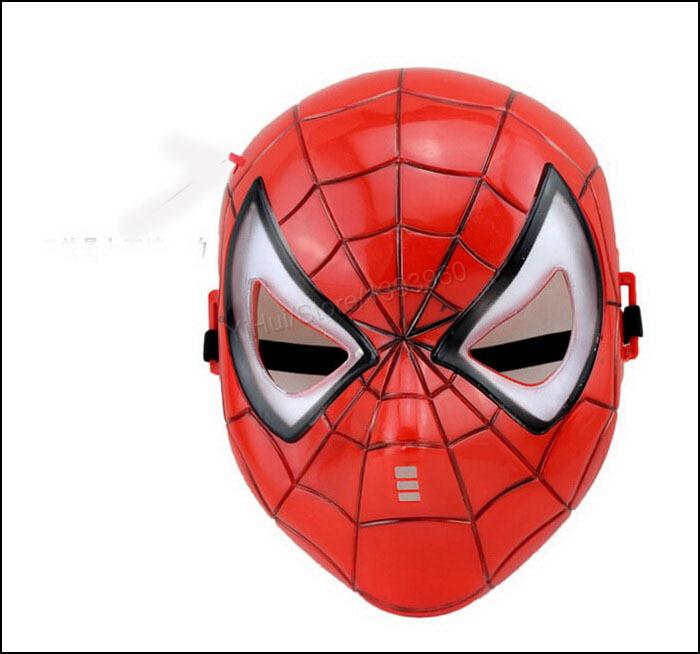Homem aranha do partido da máscara para meninos crianças Roleplay Make up Brithday Chrismas presente do dia das bruxas Cosplay boa qualidade grátis frete(China (Mainland))