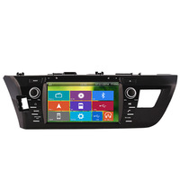 CS-T866 free camera car multimedia system TOYOTA Corolla/Levin 2013-  with gps,rds,tv,3G ,1080 p,mirror link .