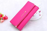 2015 New Fashion Loving Heart Rivet Women Wallets Long High Quality Brand Designer Handbags Woman Messenger Bags Purse CY066