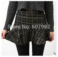 New Arrival Korean Leggings With Pleated Skirt Women Warm Thick Leggins Pants Culottes Leggings False Two Render Skirts Pants