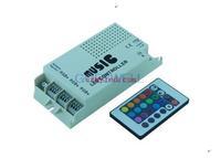 Audio sound sensitive controller 12-24V 24 Keys Wireless IR Remote Control LED Music Sound Control RGB led Controller