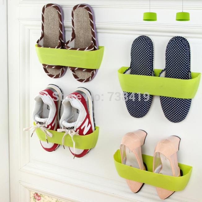 10pcs-lot-Stereoscopic-Wall-Hang-Shoe-Rack-Sapateira-Plastic-Furniture ...