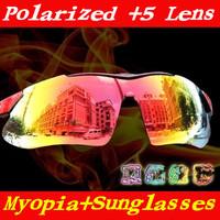 Hot! Polarized Men Women Cycling Sun Glasses Outdoor Sports Bicycle Glasses Bike Sunglasses  Goggles Eyewear 5 Lens