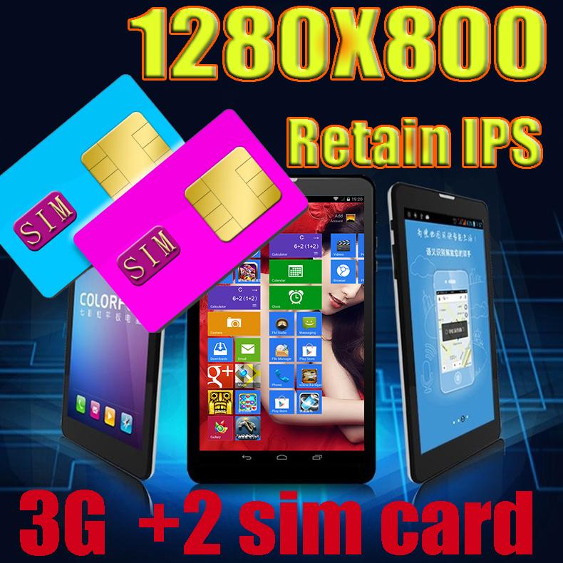 2015 7 IPS Dual SIM Card 3G Tablet PCs Windows 8 Surface 1280 800 MTK8382 Quad