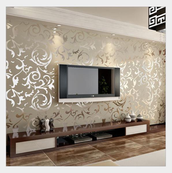 Compre 3d em relevo papel de parede para for Papel pintado para salon comedor