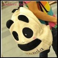 Mochila escolar  Panda Of plush cartoon cut girl/boy  Unisex Children  cartoon bacppack High capacity women school bags GG027