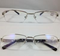 semi-rim High-grade The inner coating alloy younger Business affairs men women reading glasses +1.00+1.50+2.00 +2.5+3.0+3.50+4.0