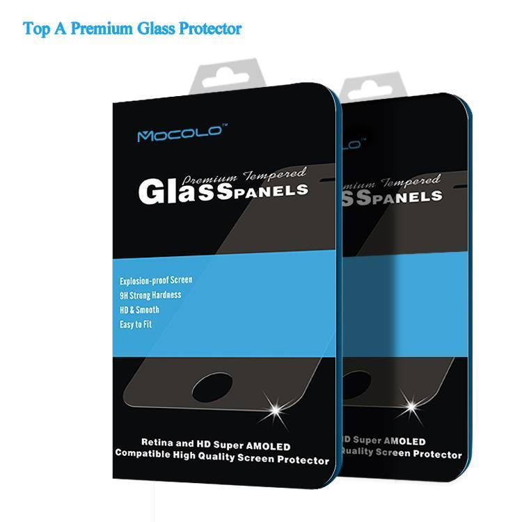 Livraison gratuite mocolo accessoires de téléphone mobile pour samsung galaxy note 3 trempé verre de protection écran 0.21mm moq 1 pcs