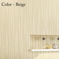KOYLE - Non-woven modern stripe papel de parede 3d bedroom room glitter wallpaper wall paper roll