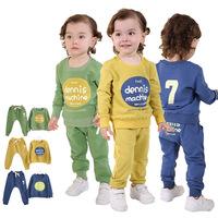 Roupas Infantil Meninas Real Promotion Coat baby boy set 2015 Spring Korean Children's clothing  Children Suit free Shipping