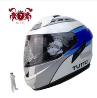 Free shipping, Italian exports TUTTO helmet lens built-highway motorcycle helmet full helmet, capacete