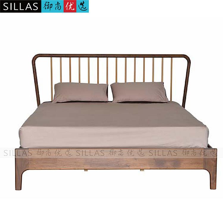 Designer Double Bed Wood