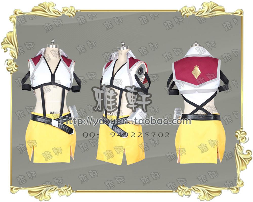CROSSANGE Angels and dragon dance round Rosalie cosplay costume(China (Mainland))