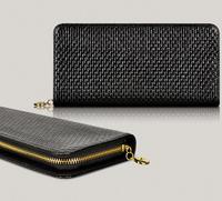 new women wallets genuine leather wallet for women fashion brand design serpentine zipper long clutch wallet leather purse
