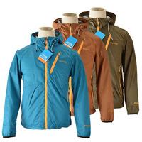2015 outdoor men hiking camping jacket windstopper waterproof onmi-shade thermal softshall jacket zipper hooded jacket colum12