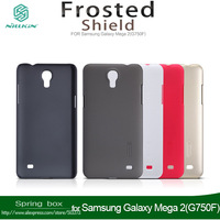 With Screen Protector Nillkin Super Shield Hard Back Case Cover For Samsung Galaxy Mega 2(G750F) Free gift