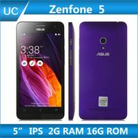"Original ZenFone 5 Android 4.3 Mobile Phone For ASUS 5"" IPS 1280x720 Screen Intel Z2560/2580 2GB RAM 16GB ROM Dual SIM GPS"