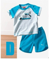 649# brand name logo clothing sets sport wear suit for boys