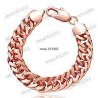 B104-B Good Quality Nickle Free Antiallergic 2014 New Fashion Jewelry 18K Gold Plated Bracelets
