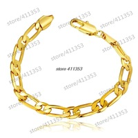 B099-A Good Quality Nickle Free Antiallergic 2014 New Fashion Jewelry 18K Gold Plated Bracelets