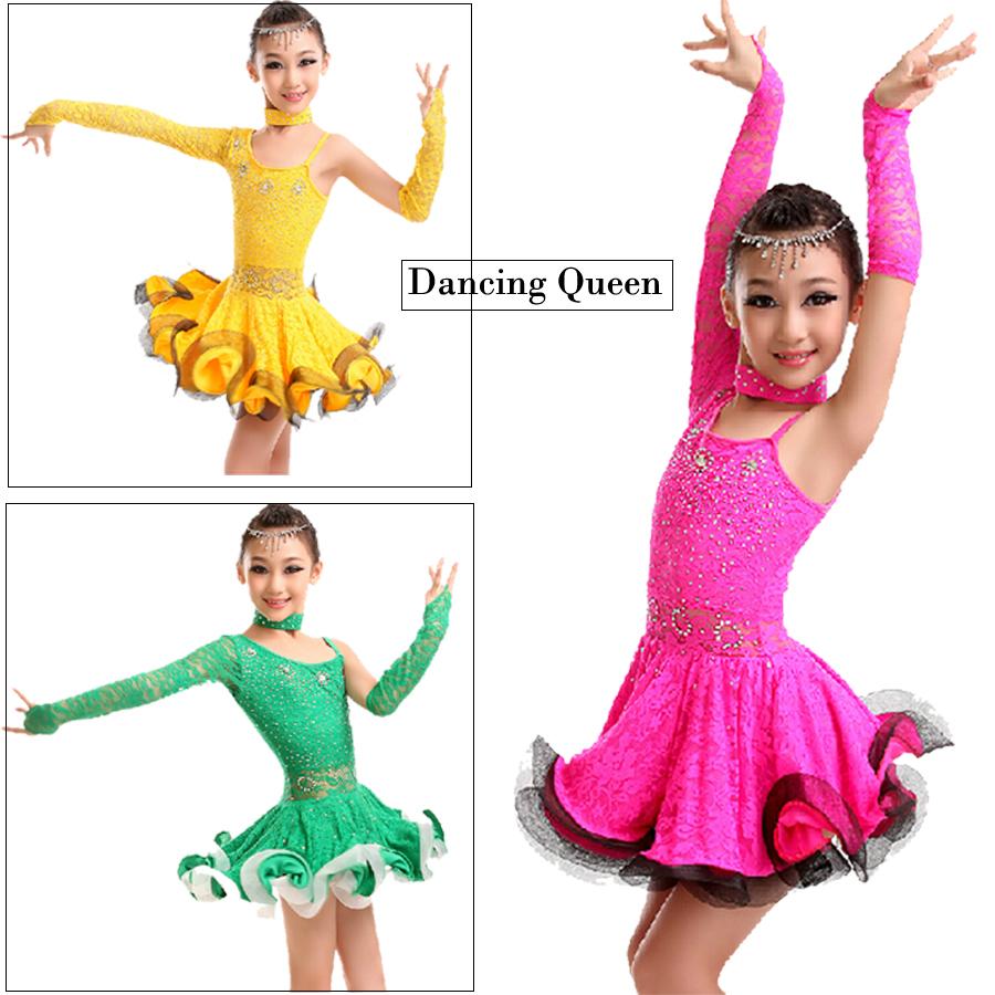 Купить Платье Для Танцев Для Девочки
