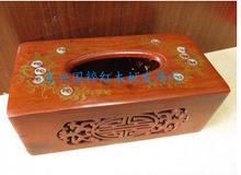 grass rosewood carving tissue box(China (Mainland))