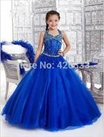 New 2014 Wedding Girl Ball Gown flower girl dresses for wedding custom made cupcake pageant dress Wedding Girl Dress