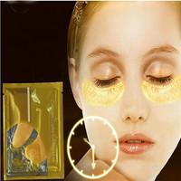 Crystal Collagen Gold Powder Eye Mask Crystal Eye Mask Top Quality Gold Crystal collagen Eye Mask eye patches 30 pcs=15 packs
