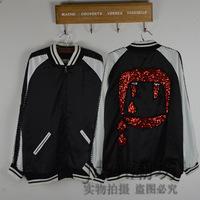 Slp paillette jacket baseball shirt