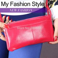 Factory supply Genuine leather women messenger bags ladies clutch bag women multifunctional Desigual one shoulder bag