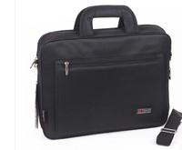 Male ladies briefcase handbag shoulder bag with three portable nylon cloth bag business package file