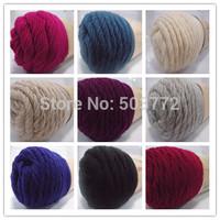 100% Pure virgin wool Sweater Knitting  Yarn  227g (4OZ)  Alpaca yarn for Knit and Crochet 1 Roll