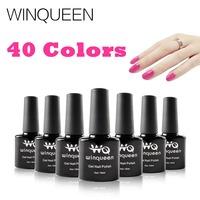 2015 Sale New Winqueen 6 Pcs/ Lot Uv Gel Nail Polish Soak Off Long Lasting 40 Colors The Best Shellac