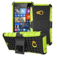 For Nokia Lumia 535 Heavy Duty Defender Case With Kickstand NOKIA 1090 1089 Phone Cases