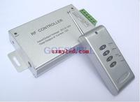 rgb controller Aluminum shell DC12V 288W 4key RF rgb remote controller for 5050 RGB led strip
