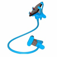 High quality  phone holder 360 rotation High quality adjustable hose universal car bracket stowing tidying