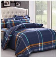 2015  Home textile,Reactive Print 3/4Pcs bedding sets luxury Full/Queen/King Size Bed Quilt/Doona/Duvet Cover Pillowcases Set