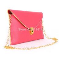 HB006,Free shippig fashion leisure elegant woman PU glorious dinner party retro envelope handbag