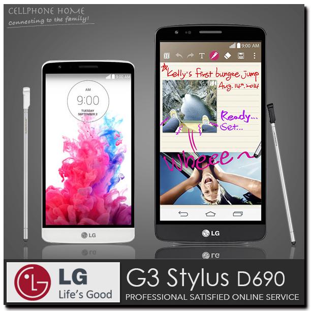 "LG G3 Stylus D690 Original Unlocked CellPhone Quad Core GSM/WCDMA 5.5"" 960x540 13MP 8GB Android WIFI 3G Dual SIM Mobile Phone G3(China (Mainland))"
