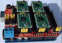 NEW ASSEMBLED CNC SHIELD EXPANSION BRD.V3 and 4PCS A4988 DRIVERS