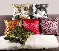 45*45cm Flower Pillow Cover Cushion Cover High Quality Home Decoration Pillowcase Car Chair Sofa Cushions New House Gifts Decor