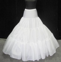 Wedding Petticoat for Ball Gown Dress Free Shipping Plus size Waist Under Skirt