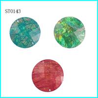 DIY Decoration ,Flatback Rhinestone Trimming ,Bag Diamante Accessories ,2 Hole 100Pcs Accept Mix Colors