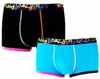 Free shipping!! 2 Pieces/Lot famous brand men's underwear /High quality men's cotton boxers /Men's boxers/Men's boxer short