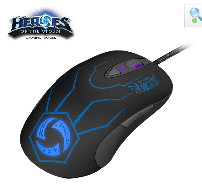 Gaming Mouse Steelseries Heroes of The Storm Sensei RAW Mouse Laser Wired USB 5670dpi Breathing LED Backlight Backlit(China (Mainland))