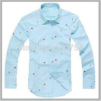 2015 Hot Sale Free Shipping New Mens Shirts Casual Slim Fit Stylish Mens Dress Shirts Men Fashion Shirts #776