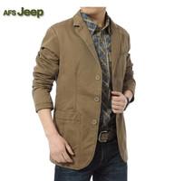 AFS Jeep Man Fashion Turn down Collar Long Sleeve Cotton Jacket Winter Men Clothing Casaco Masculino Roupas Masculinas