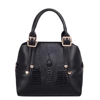 2015 Hot new European and American women shells portable shoulder bag big bag wild crocodile fashion free shipping